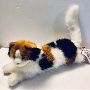 NWT Douglas the Cuddle Cat Toy Plush Calico